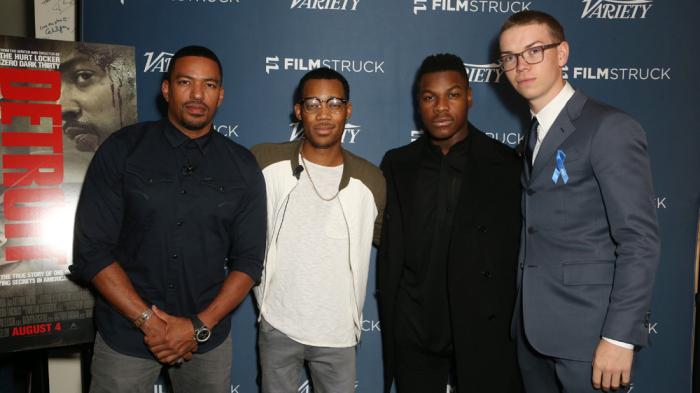 John Boyega, Will Poulter, and 'Detroit'