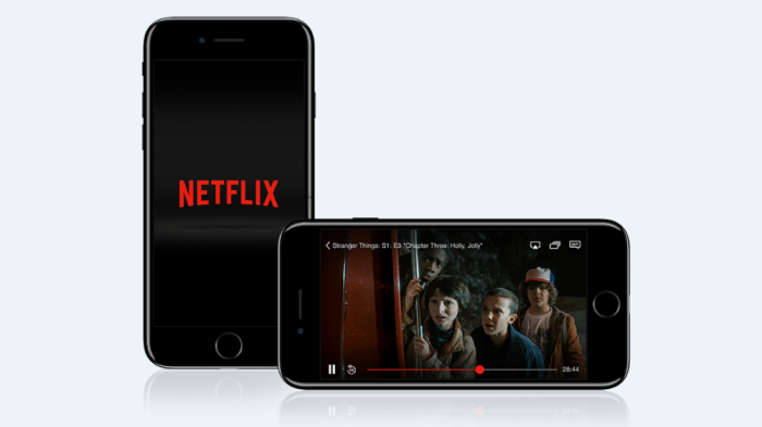 Netflix iPhone mobile app