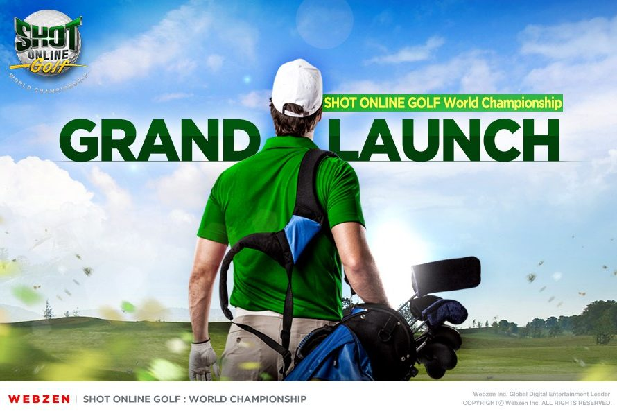Mit einem Schlag einlochen! Golfen MMO Shot Online Golf: Die Weltmeisterschaft ist weltweit verfügbar