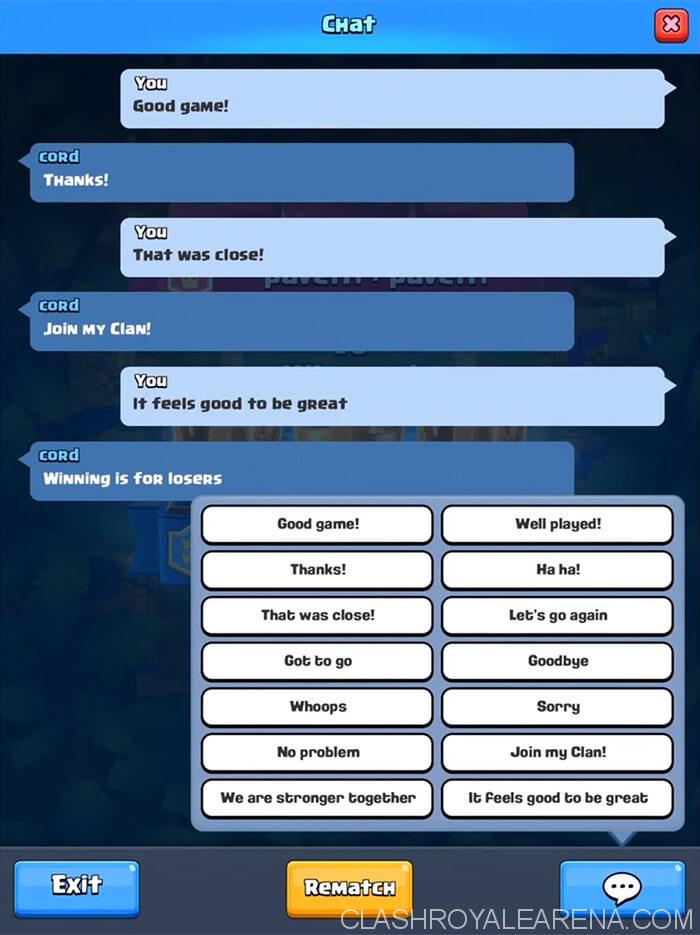 neue 2v2 Chat Emotes
