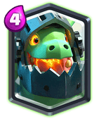 Clash Royale Inferno Drache