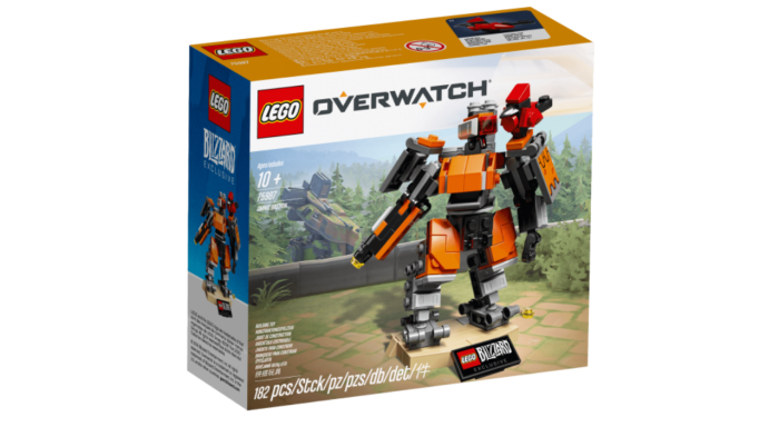 First LEGO Overwatch Model is Omnic