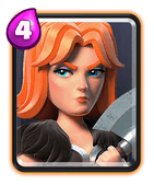 Clash Royale Valkyrie