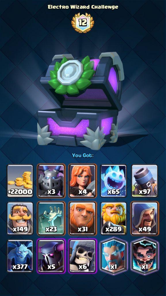 Electro Wizard Challenge Deck