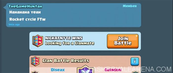 Clan Battle Invitation