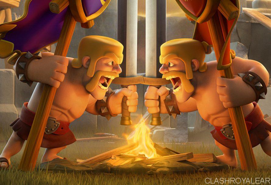 Clash Royale Clan Wars (Idee)