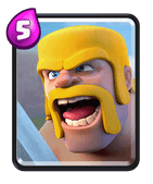 Clash Royale Barbaren