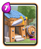 Clash Royale Barbarenhütte