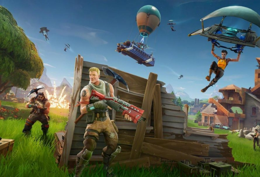 Der erste Fortnite Battle Royale Trailer zeigt das mobile Gameplay