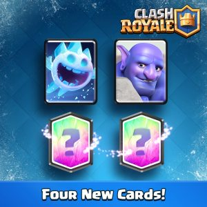 Ice Spirits und Bowler neues Update Royale Update
