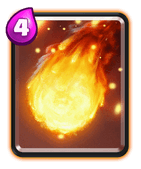 Clash Royale Feuerball