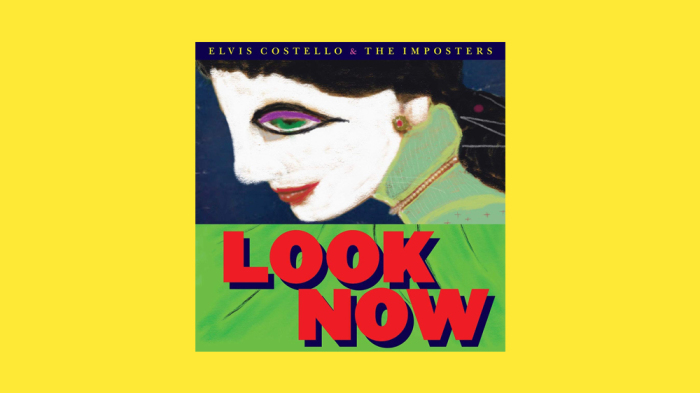 "Elvis Costello ""Look Now"""