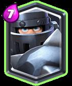 Zusammenstoß Royale Mega Knight