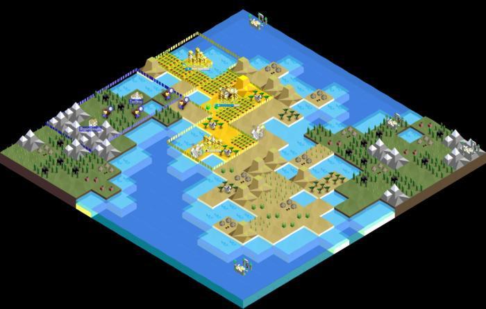 Sie können jetzt Battle of Polytopia mit Freunden spielen