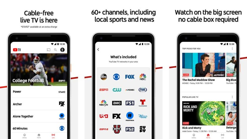 YouTube TV (Live TV)