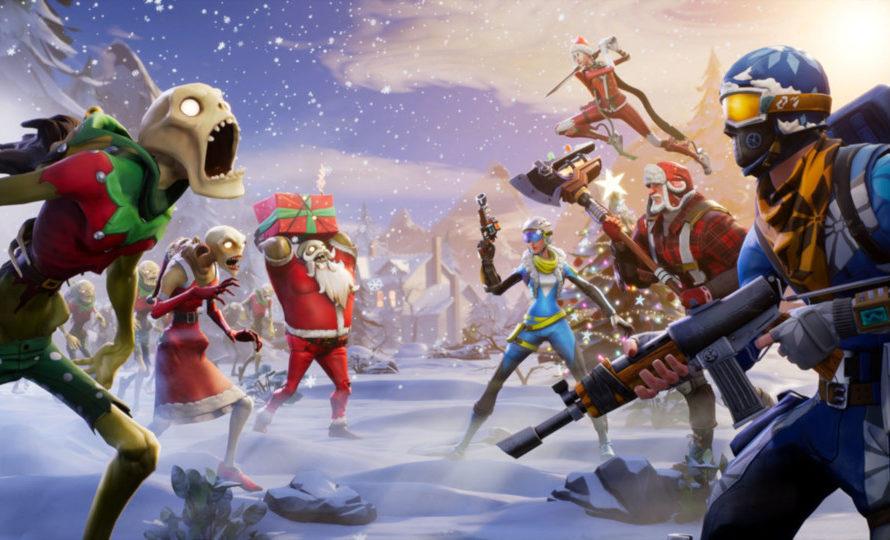 Fortnite Christmas-Pullover jetzt bei Merchoid erhältlich