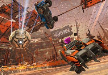 Rocket League für den neuen Chaos Run DLC im Dezember