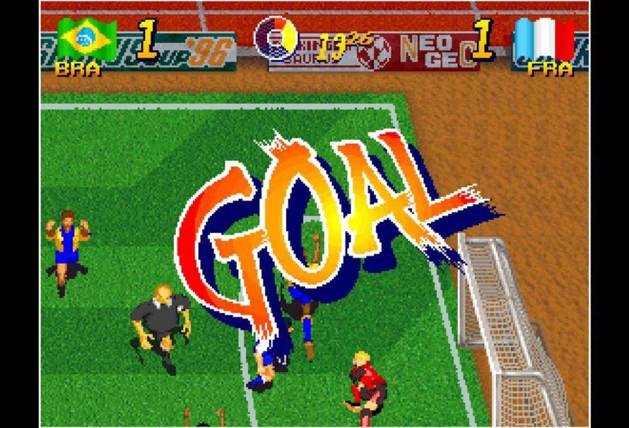 ACA NEOGEO Vergnügungsziel: 5 Am 5. Mini Soccer schießt und punktet die Xbox One