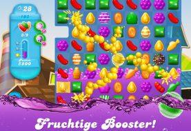 Candy Crush Soda Saga kommt auf dem Handy an