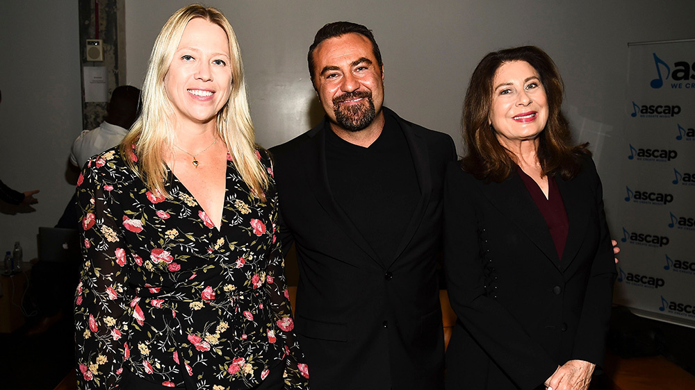 Spring Aspers, Kevin Weaver and Paula Wagner at Variety's Music for Screens Summit at NeueHouse Hollywood on October 30, 2018.Variety Music for Screens summit, Los Angeles, USA - 30 Oct 2018