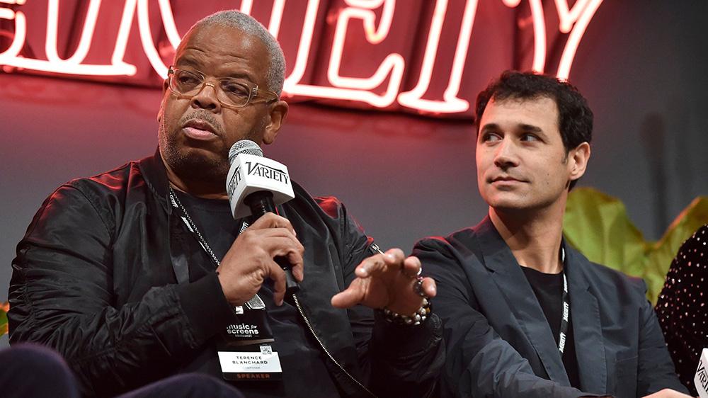 Terence Blanchard and Ramin Djawadi at Variety's Music for Screens Summit at NeueHouse Hollywood on October 30, 2018.Variety Music for Screens summit, Los Angeles, USA - 30 Oct 2018