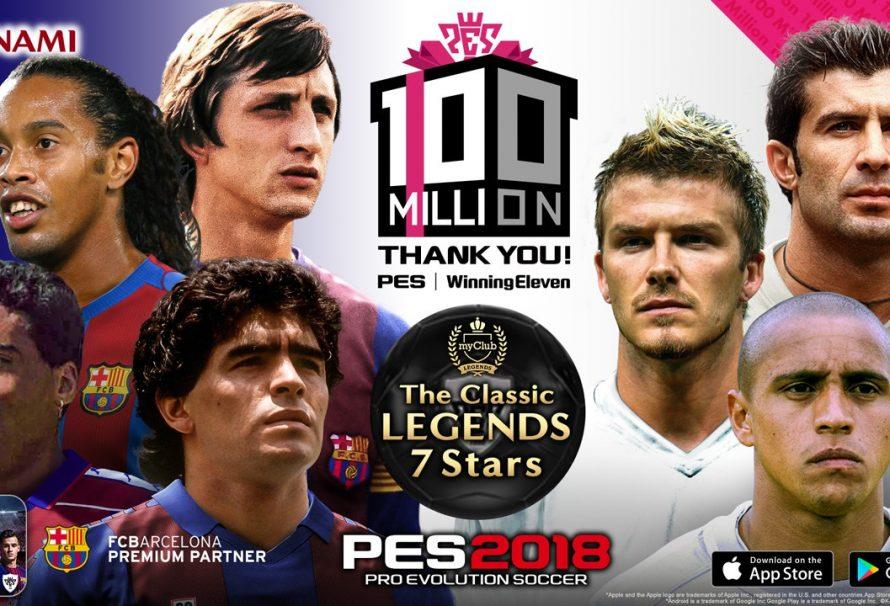 Feiern Sie 100 Millionen PES-Umsätze mit PES 2018-Goodies im Spiel – und der Chance, Philippe Coutinho kennenzulernen