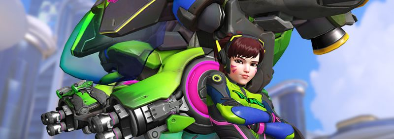 Earn Some D.Va-Themed Loot in the 'Overwatch' Nano Cola Challenge