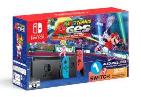 'Mario Tennis Aces' Nintendo Switch Bundle Unveiled