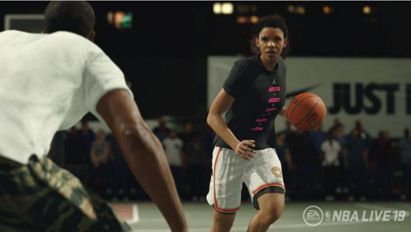Female Basketball Players Are Coming to 'NBA Live 19'