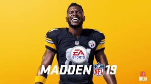 Steelers Wide Receiver Antonio Brown Named 'Madden NFL 19' Cover Athlete