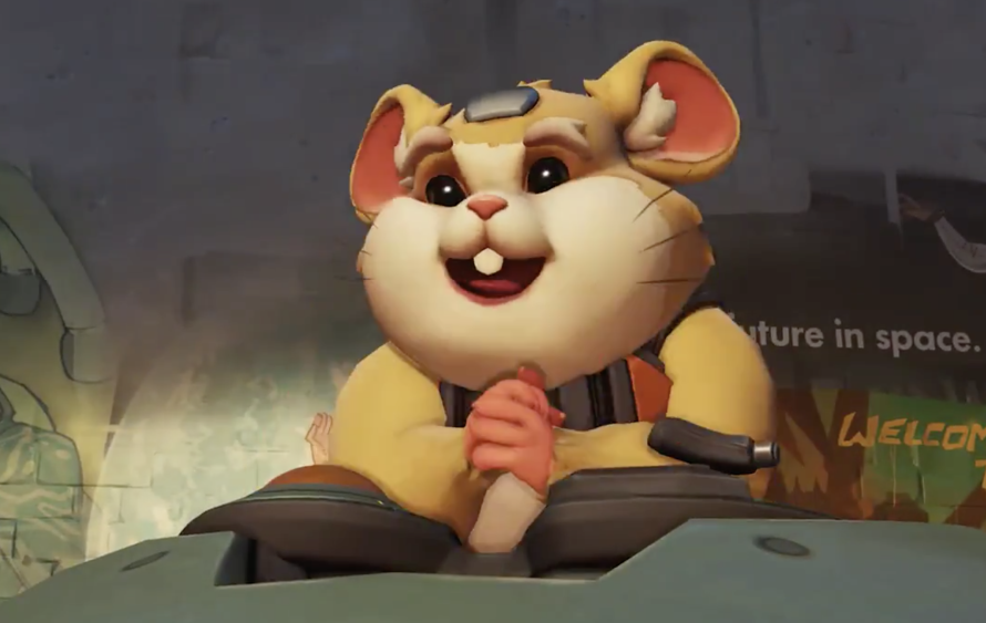 'Overwatch's' New Hero Appears to be a Hamster in a 'Star Wars' Droid