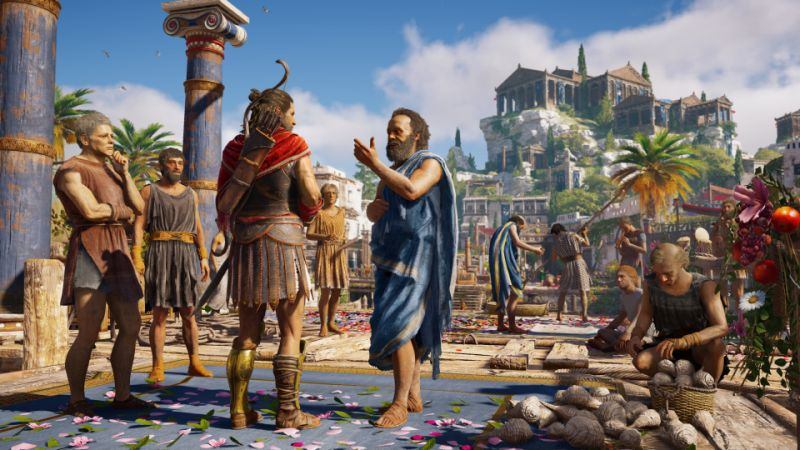 'Assassin's Creed Odyssey' Seems to Be a Game at the Top of Its Franchise