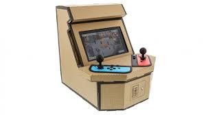 Nyko's New Nintendo Cardboard Kit Lets You Build a Retro Arcade Cabinet
