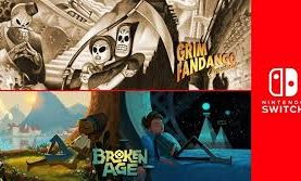 'Grim Fandango Remastered' and 'Broken Age' Are Coming to Switch