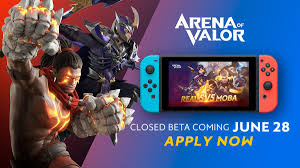 Apply for the Nintendo Switch 'Arena of Valor' Closed Beta Now