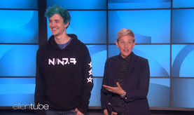Watch Ninja Play 'Fortnite' With Ellen DeGeneres