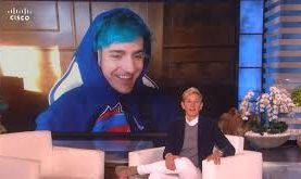 Ellen Drops in on Ninja's 'Fortnite' Stream