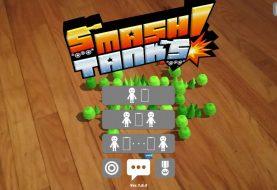 AR Smash Panzer! könnte das erste große ARCore-Spiel sein