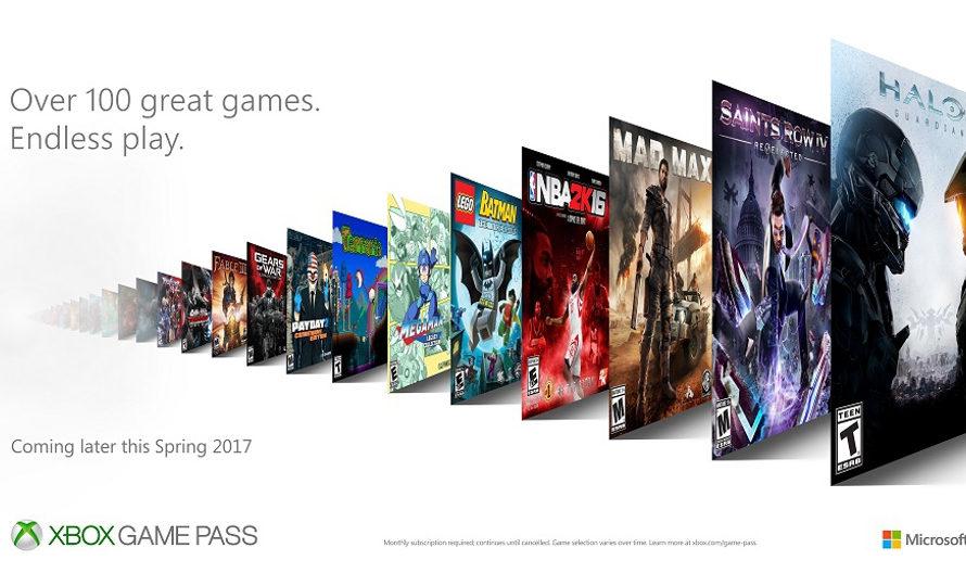 Microsoft kündigt den Abonnementdienst Xbox Game Pass an