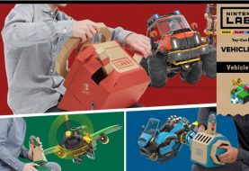 Neues Nintendo Labo Vehicle Kit für Nintendo Switch im September
